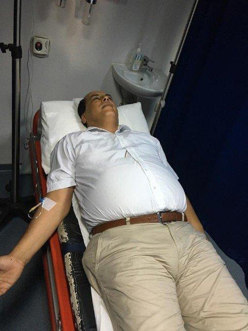 Başkan Tuğrul Ozan Hastanelik Oldu