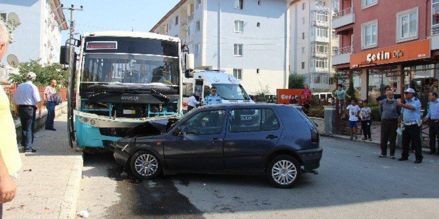 Kütahya'da korkunç kaza! 10 Yaralı
