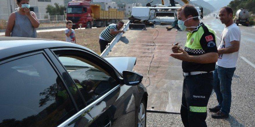 Milas Söke yolunda kaza: 9 Yaralı