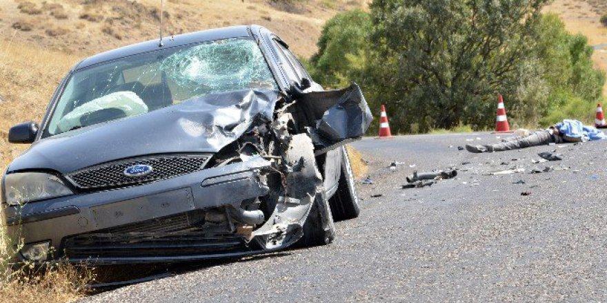 Arguvan'da Kaza: 1 Ölü, 1 Yaralı