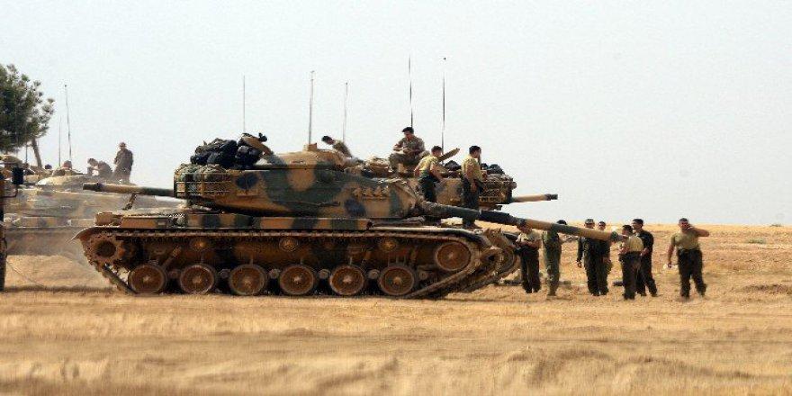 Sınır Hattında Askeri Hareketlilik Devam Ediyor