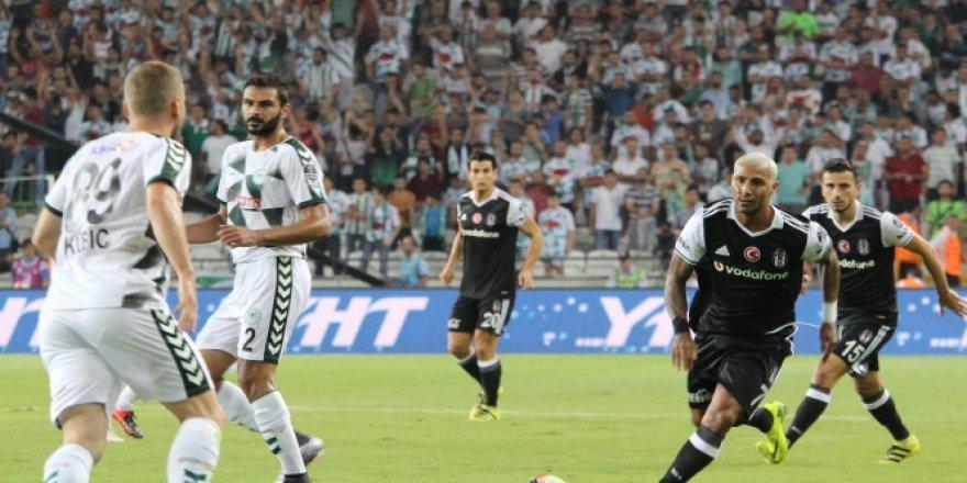 Atiker Konyaspor 2 Beşiktaş 2! Atiker Konyaspor-Beşiktaş maçı özeti..