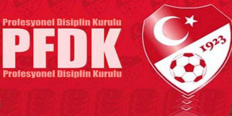 PFDK'dan Galatasaray'a Ceza Yağmuru