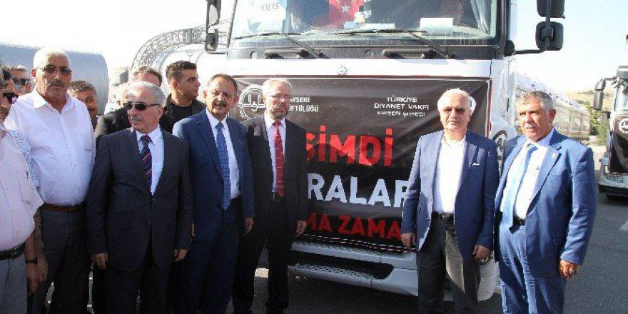 Çevre Ve Şehircilik Bakanı Mehmet Özhaseki: 38 Tır İhtiyaç..
