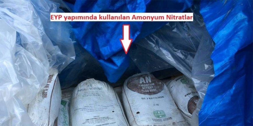 Gaziantep'te bomba yapımında kullanılan amonyum nitrat yüklü TIR alarmı!