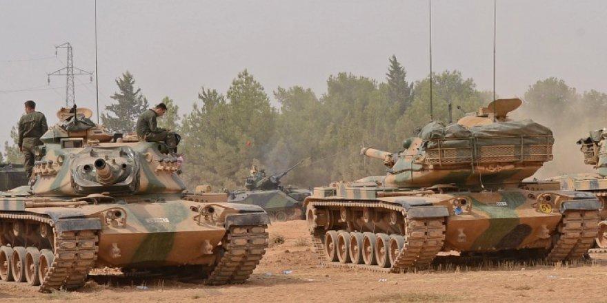 TSK'dan açıklama! 'Atılan roket sonucu bir tank hafif hasar gördü, 3 asker yaralandı'
