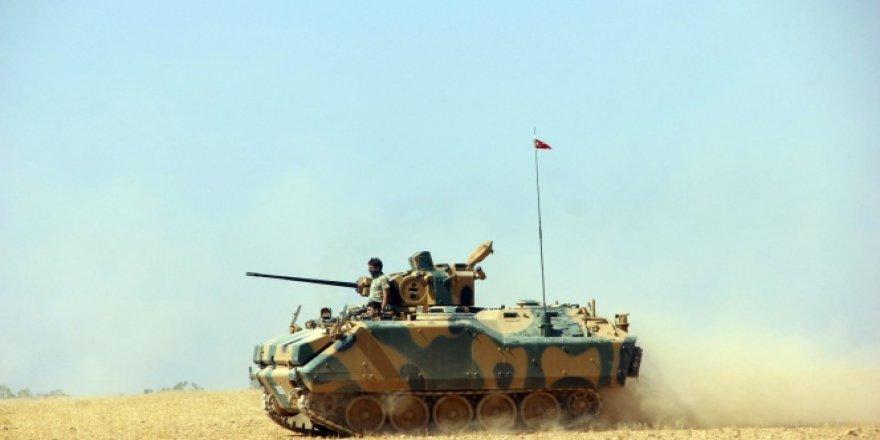 TSK açıklama! 'Tanka saldırı düzenleyen teröristler imha edildi'