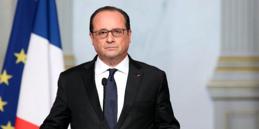 Cerablus operasyonu Cumhurbaşkanı Hollande'ı rahatsız etti!