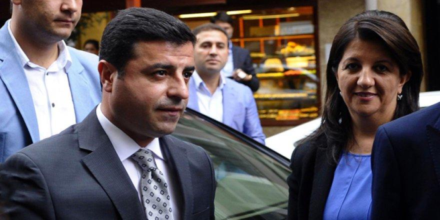 HDP'li Selahattin Demirtaş ve Pervin Buldan ifadeye çağrıldı
