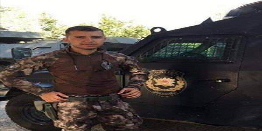 Şehit Özel Harekat Polisi Gökhan Özdemir'in ateşi Gaziantep'e düştü