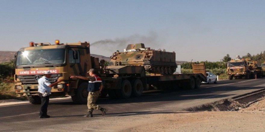Kilis Üzerinden El Bab'a Askeri Sevkiyat
