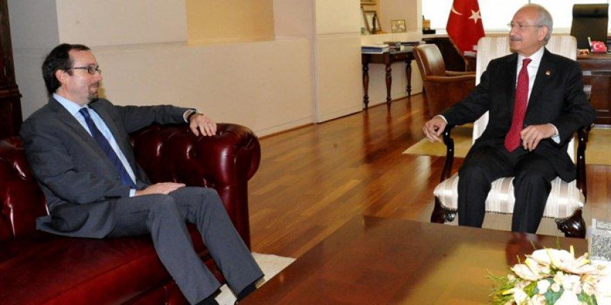 Kılıçdaroğlu ABD Büyükelçisi'yle görüştü
