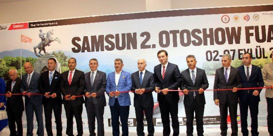 Türkiye'de 2016'nın ilk otomotiv fuarı 'Samsun 2. Otoshow Fuarı' açıldı
