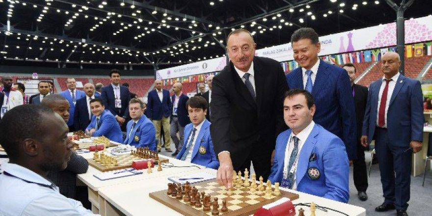 42. Dünya Satranç Olimpiyatları Azerbaycan, Bakü'de Başladı