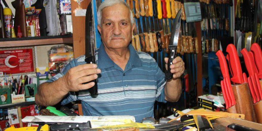 Aksaray'da Bıçak Satışlarında Artış Yaşanıyor