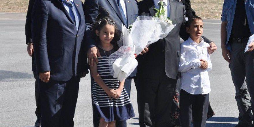 Orman Ve Su İşleri Bakanı Eroğlu İle Milli Eğitim Bakanı İsmet Yılmaz Sivas'ta
