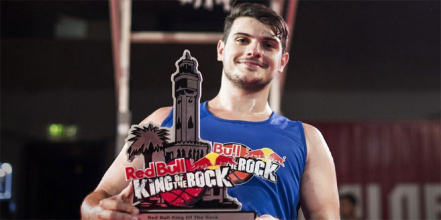 Red Bull King of The Rock Türkiye şampiyonu Yunus Berk Targan!