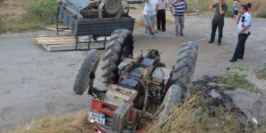 Karabük'te Traktör Kazası: 1 Ölü