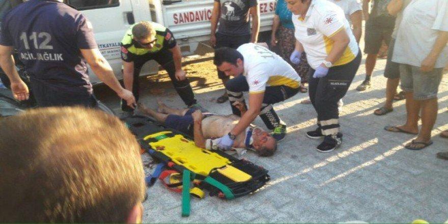 Muğla, Milas'ta Kaza: 1 Ağır Yaralı