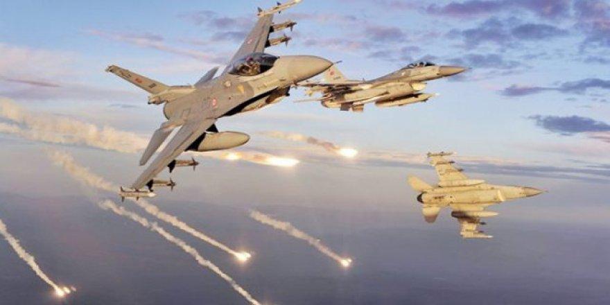 Türk Jetleri El Bab'daki DEAŞ Hedeflerine Hava Harekatı Yapıyor