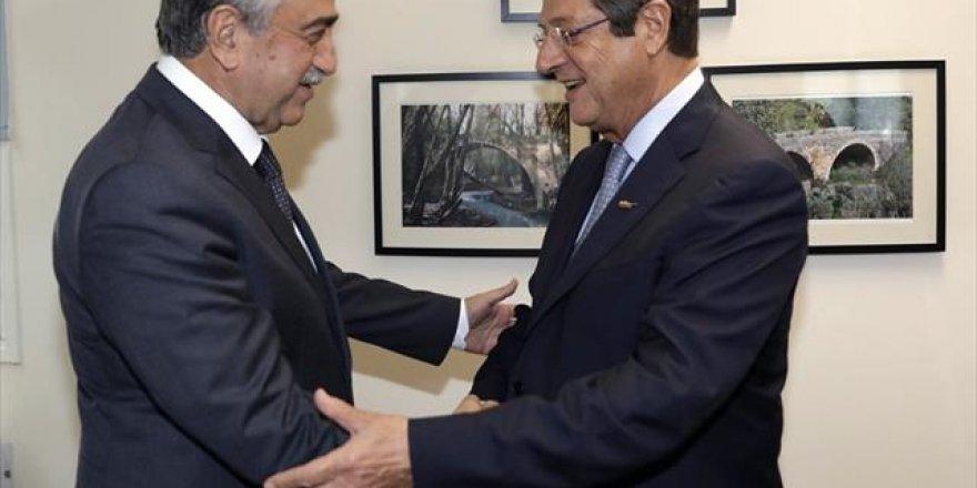 Kıbrıslı Liderler Yaklaşık 4 Saat Görüştü