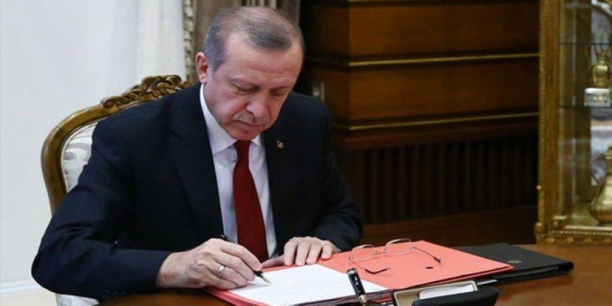 Erdoğan, 6745 sayılı kanunu onayladı!