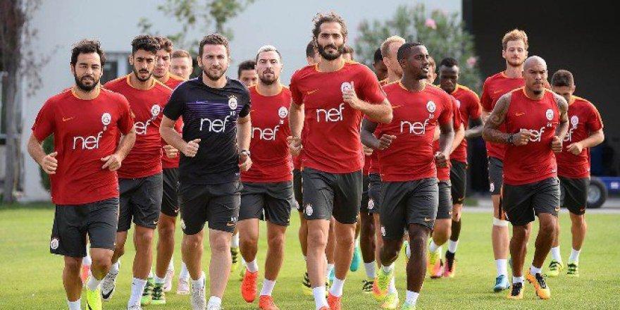 Galatasaray, Kayserispor için çift antrenman yaptı
