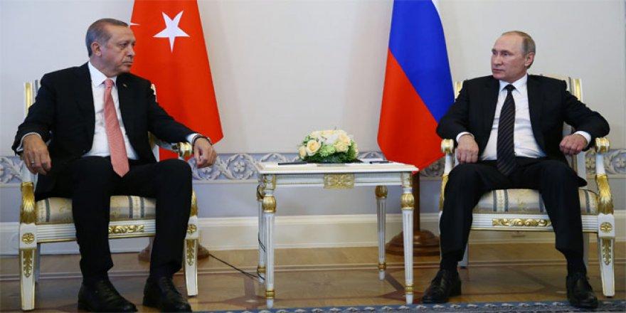 Cumhurbaşkanı Erdoğan, Putin ile telefonda görüşmesi yaptı!