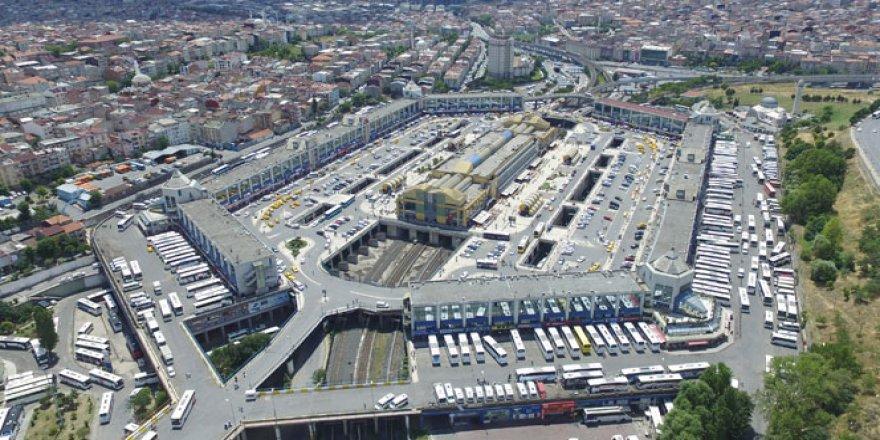 İstanbul Büyük Otogar'ında bayram hareketliliği