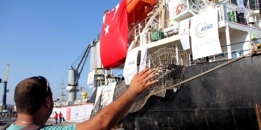 Afrika Ülkelerine Türkiye'den 11 Ton Yardım gönderildi