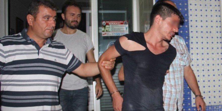 Samsun, Bafra'da Kaçan Hırsızlık Zanlısı Polise Zor Anlar Yaşattı