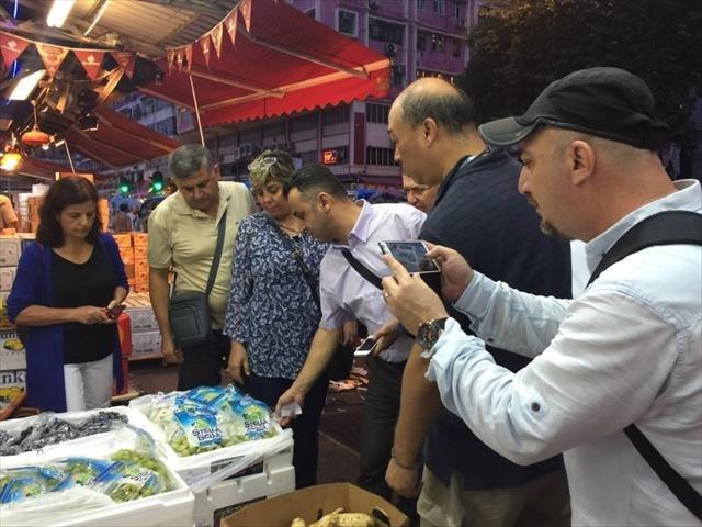 Hong Kong'dan Yaş Sebze Meyve Talebi