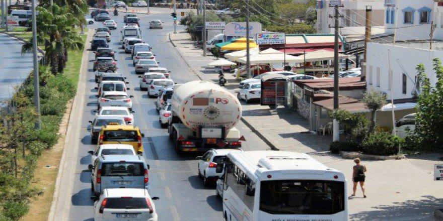 Bodrum'a Yerli Turist Akını