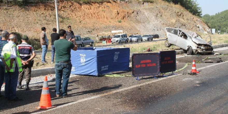 Muğla, Milas'a Yeni Atanan Komiser Kazada Şehit Oldu