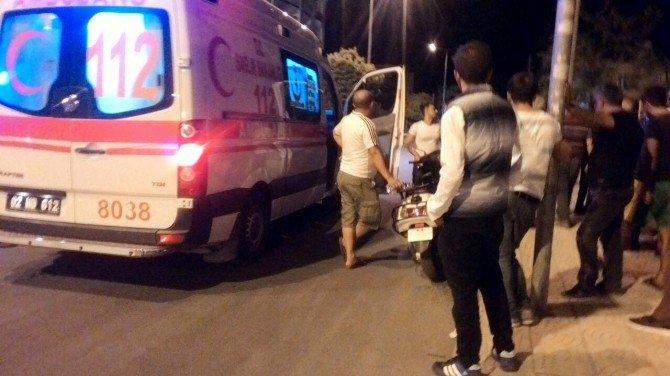 Adıyaman'da Karapınar Caddesinde Bıçaklı Kavga: 1 Yaralı