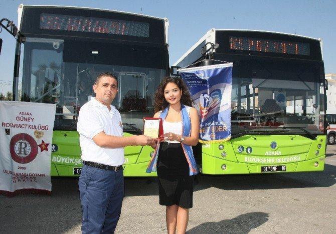 Adana'da Örnek Şoförlere Meslek Hizmet Ödülü