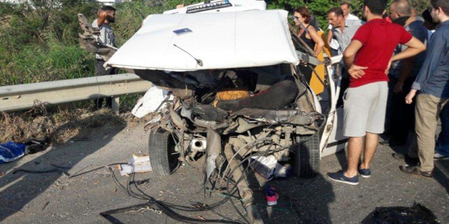 Silivri'de korkunç kaza: 1 ölü, 2 yaralı