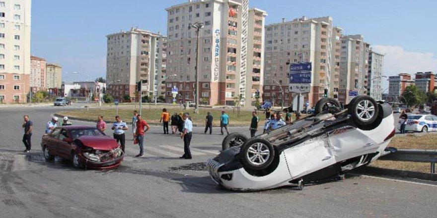 Samsun'da korkunç trafik kazası: 5 yaralı!