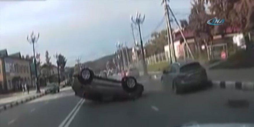 Rusya'da göz göre göre kaza!