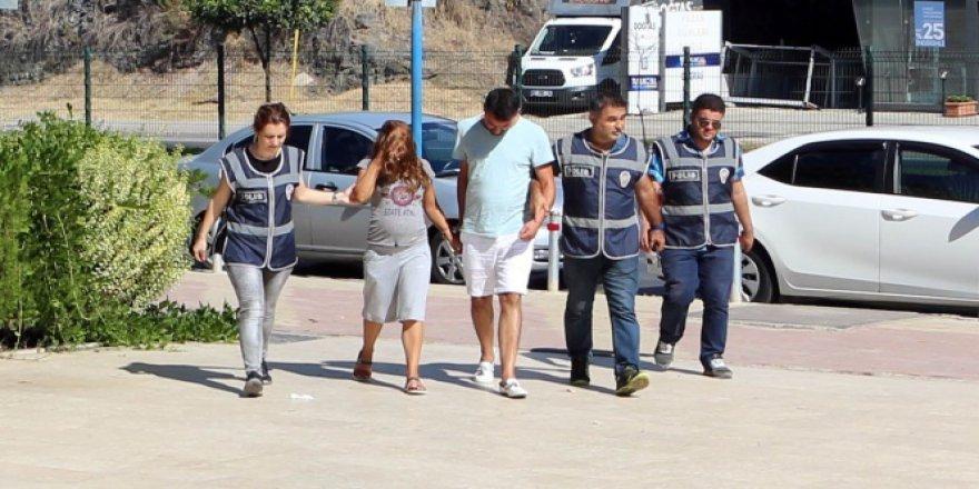 Antalya, Alanya'da 120 bin TL'lik hırsızlık çetesi çökertildi!