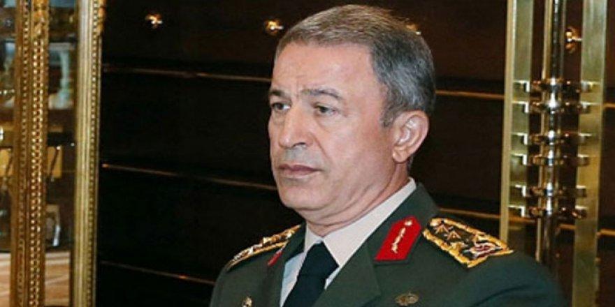 Org. Hulusi Akar: 'TSK ve Türkiye'nin hiçbir ülkenin toprağında gözü yoktur'