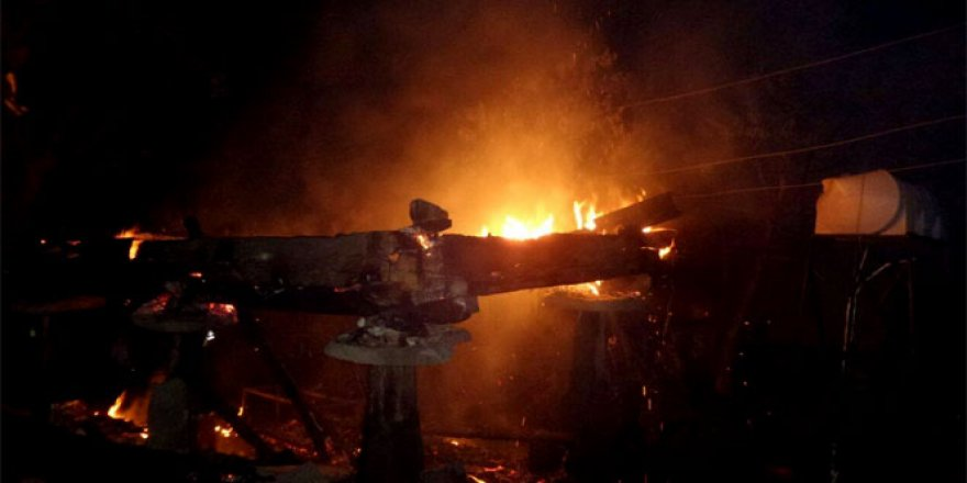 Sinop, Erfelek'te yangın: 1 ölü