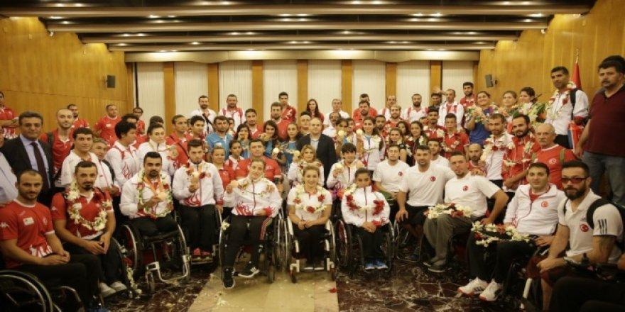 Ay-yıldızlılar Rio 2016 Paralimpik Oyunları'nda tarih yazdı