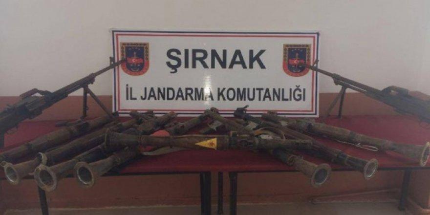Şırnak, Güçlükonak'ta eylem hazırlığındaki teröristlere operasyon