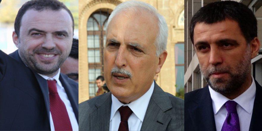 Hakan Şükür, Arif Erdem ve Hüseyin Avni Mutlu hakkında son karar!