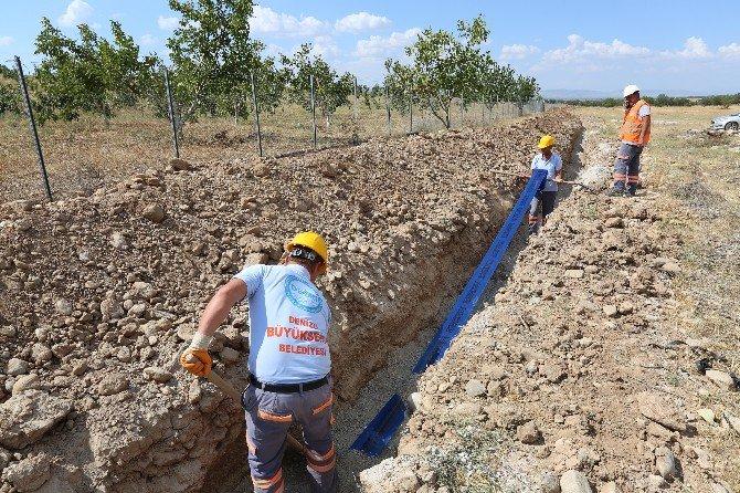 Denizli Büyükşehir'den Boğaziçi'nin İçme Suyu Çözüm