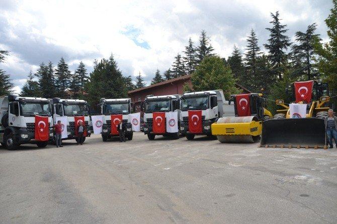 Isparta Özel İdareye 6,5 Milyon Tl Yatırımla Araç Takviyesi