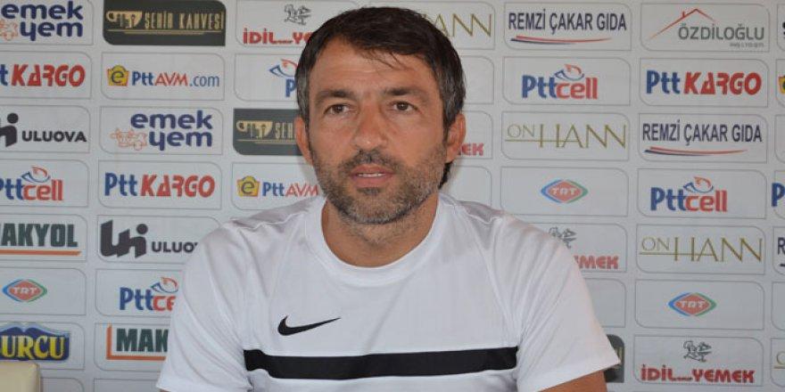 Balıkesirspor'da Teknik Direktör Reha Kemal Erginer istifa etti