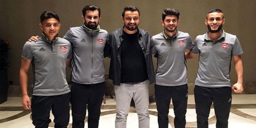 Maç öncesi Gaziantepspor'da 4 oyuncunun sözleşmesi uzatıldı