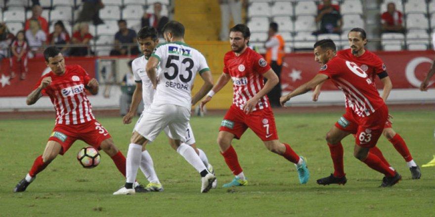 Antalyaspor 0 - 0 Akhisar Belediyespor